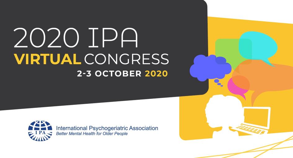 Congresso Internacional da International Psychogeriatric Association 2020