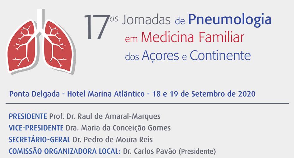 17.ªs Jornadas de Pneumologia em Medicina Familiar dos Açores e Continente