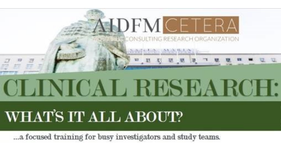 "8.ª edição do Curso ""CLINICAL RESEARCH: WHAT'S IT ALL ABOUT? – A focused training for busy investigators"""