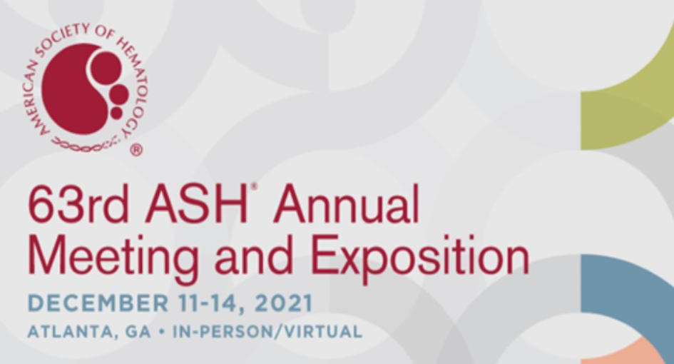 63rd ASH Annual Meeting and Exposition