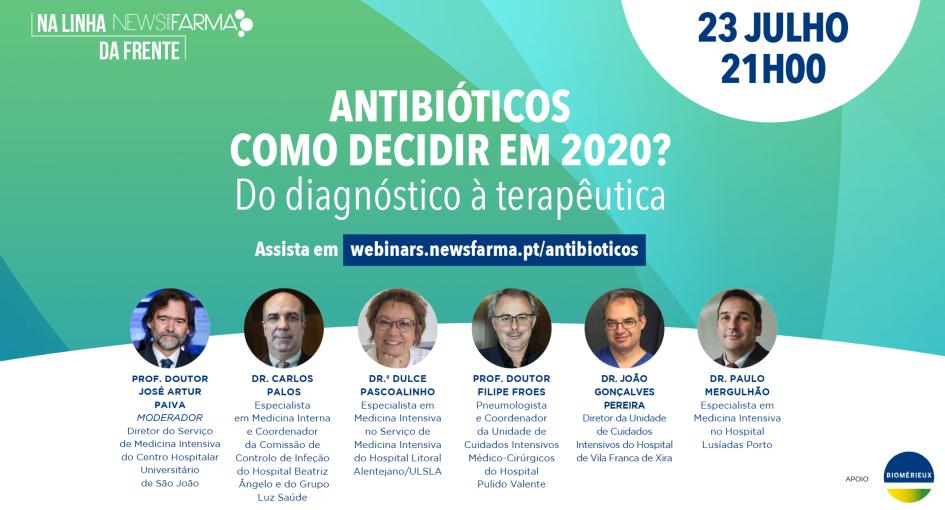 Antibióticos como decidir em 2020? Do diagnóstico à terapêutica