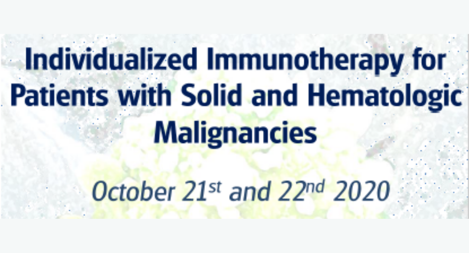 Curso Individualized Immunotherapy for Patients with Solid and Hematologic Malignancies