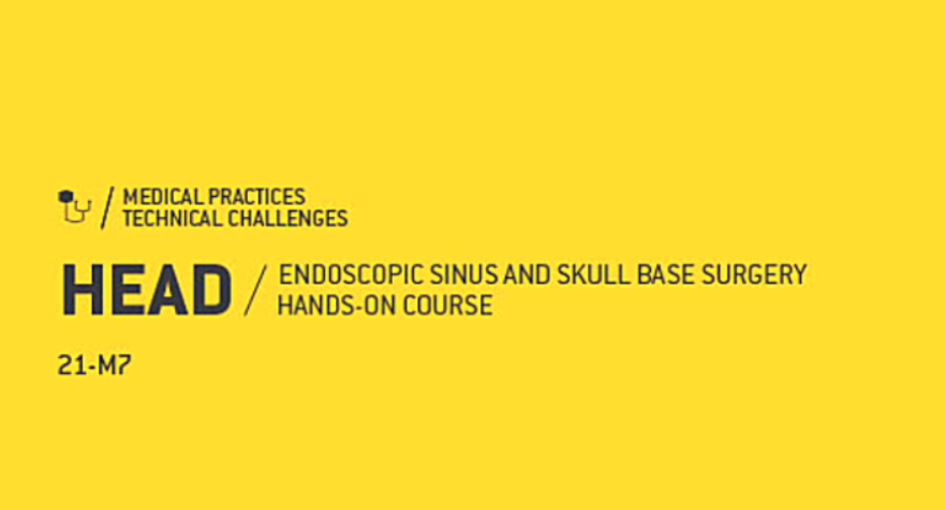 Curso Endoscopic Sinus and Skull Base Surgery Hands-on
