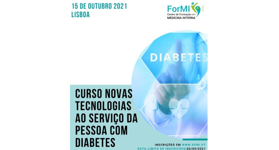 Curso de novas tecnologias ao serviço da pessoa com diabetes