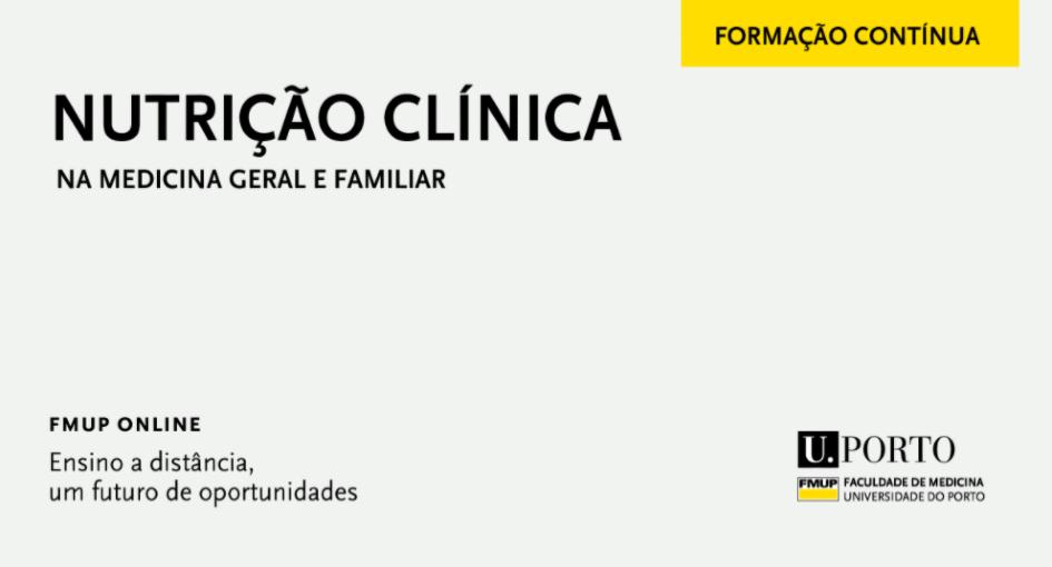 Curso de Nutrição Clínica na Medicina Geral e Familiar