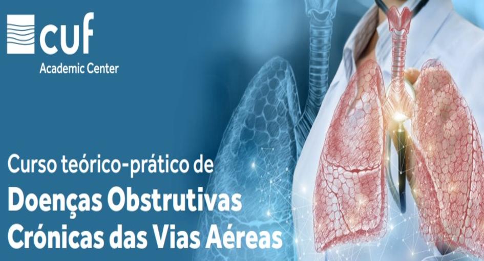 Curso teórico-prático de doenças obstrutivas crónicas das vias aéreas